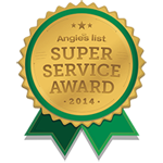 2013 & 2014 Angie's List Super Service Award Winners