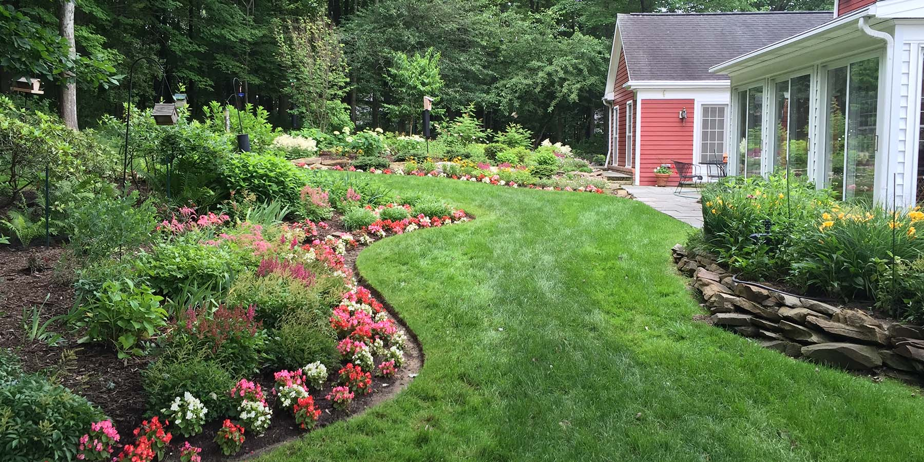 hemlock lawn care yard maintenance